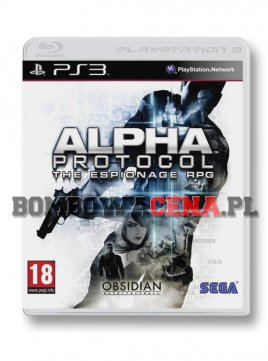 Alpha Protocol: The Espionage RPG [PS3]