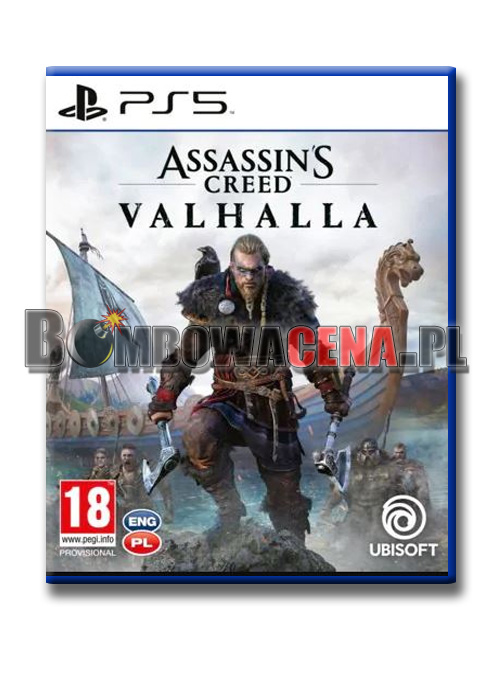 Assassin\'s Creed: Valhalla [PS5] PL, NOWA