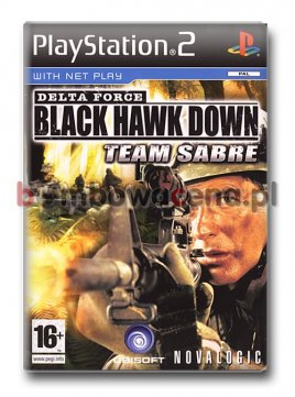 Delta Force: Black Hawk Down - Team Sabre [PS2] (błąd)