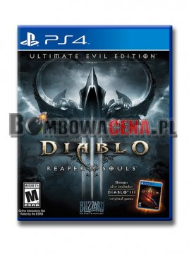 Diablo III: Reaper of Souls - Ultimate Evil Edition [PS4] PL