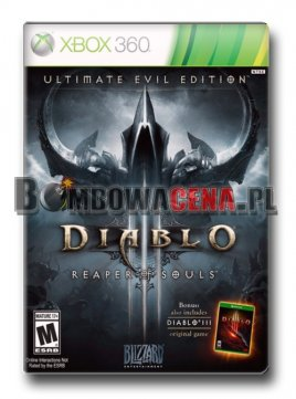 Diablo III: Reaper of Souls - Ultimate Evil Edition [XBOX 360] PL