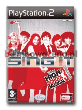 Disney Sing It: High School Musical 3: Senior Year [PS2]