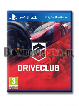 DriveClub [PS4] PL, NOWA