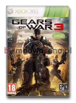 Gears of War 3 [XBOX 360][XBOX ONE] PL