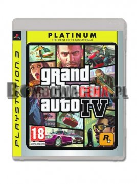 Grand Theft Auto IV [PS3] Platinum