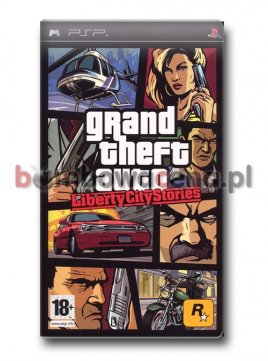 Grand Theft Auto: Liberty City Stories [PSP]
