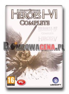 Heroes of Might Magic I-VI: Complete [PC] PL
