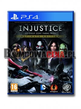 Injustice: Gods Among Us Ultimate Edition [PS4] PL, NOWA