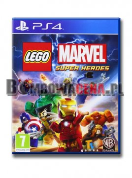 LEGO Marvel Super Heroes [PS4] NOWA