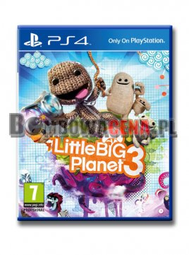 Little Big Planet 3 [PS4] PL, NOWA