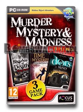 Murder, Mystery & Madness - Triple Pack [PC]
