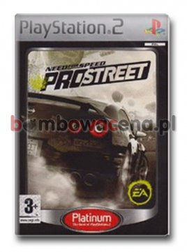 Need for Speed ProStreet [PS2] PL, Platinum