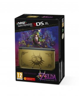 New Nintendo 3DS XL The Legend of Zelda Majora's Mask 3D Special Edition [3DS] NOWA