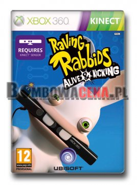Raving Rabbids: Alive and Kicking [XBOX 360] PL