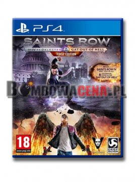 Saints Row IV: Re-Elected [PS4] PL