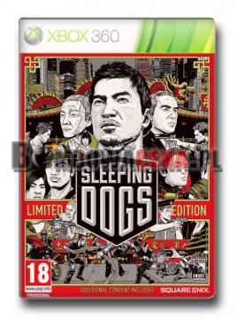Sleeping Dogs [XBOX 360] PL, Limited Edition