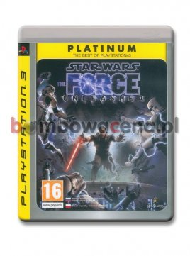 Star Wars: The Force Unleashed [PS3] Platinum