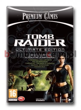 Tomb Raider - Ultimate Edition [PC] PL, Premium Games, 9 gier