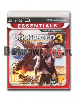Uncharted 3: Oszustwo Drake'a [PS3] PL, Essentials