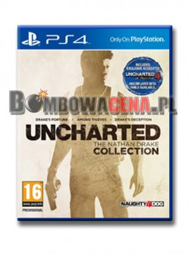 Uncharted: The Nathan Drake Collection [PS4] PL dubbing