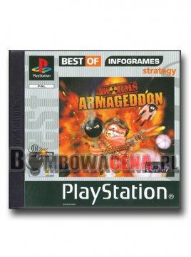 Worms: Armageddon [PSX] Best of Infogrames