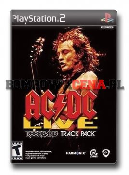 AC/DC LIVE: Rock Band Track Pack [PS2] NTSC USA