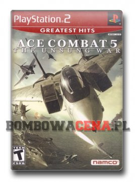 Ace Combat 5: The Unsung War [PS2] NTSC USA, Greatest Hits, (unikat)