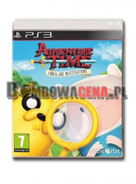 Adventure Time: Finn and Jake Investigations [PS3] NOWA