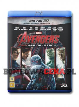 Avengers: Age of Ultron [BLU-RAY] 3D, ANG