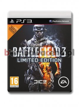 Battlefield 3 [PS3] PL, Limited Edition