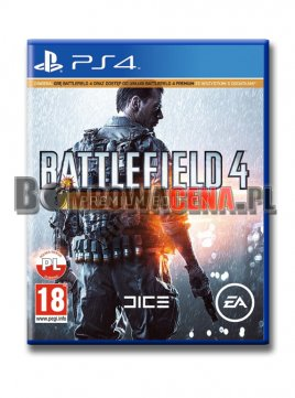 Battlefield 4 [PS4] PL, Premium Edition