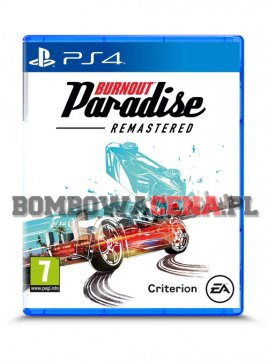 Burnout Paradise Remastered [PS4] PL, NOWA