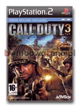 Call of Duty 3 [PS2] (błąd)