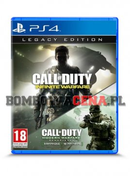 Call of Duty: Infinite Warfare + Call of Duty: Modern Warfare Remastered [PS4] Legacy Edition
