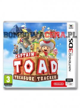 Captain Toad: Treasure Tracker [3DS] NOWA