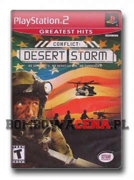 Conflict: Desert Storm [PS2] NTSC USA, Greatest Hits