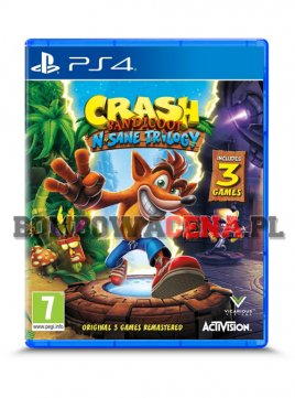 Crash Bandicoot N. Sane Trilogy [PS4] NOWA
