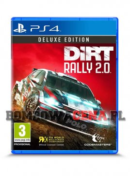 DiRT Rally 2.0 [PS4] PL, Deluxe Edition, NOWA