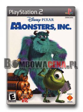 Disney Pixar's Monsters, Inc. [PS2] NTSC USA