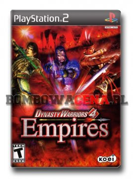 Dynasty Warriors 4: Empires [PS2] NTSC USA