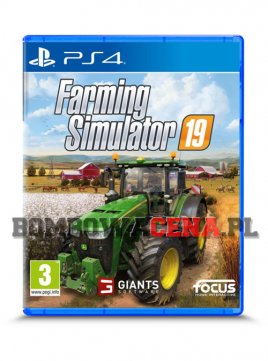 Farming Simulator 19 [PS4] PL, NOWA