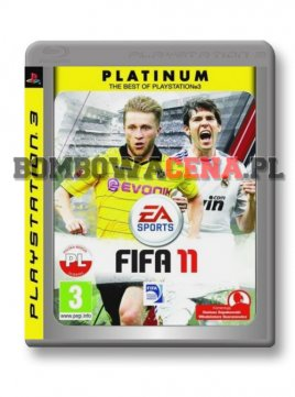 FIFA 11 [PS3] PL, Platinum