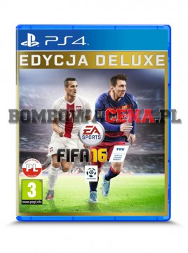 FIFA 16 [PS4] PL, Edycja Deluxe