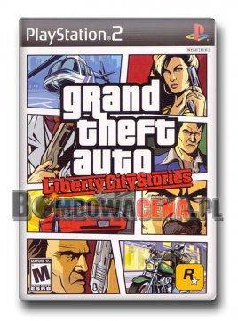 Grand Theft Auto: Liberty City Stories [PS2] NTSC USA