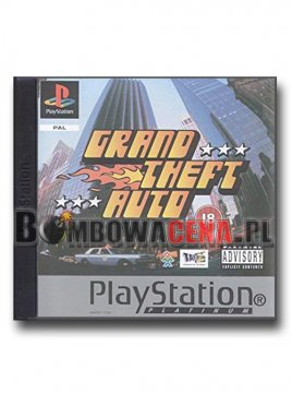 Grand Theft Auto [PSX] Platinum
