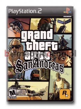 Grand Theft Auto: San Andreas [PS2] (błąd)