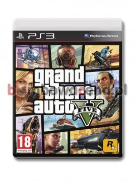 Grand Theft Auto V [PS3] PL (błąd)