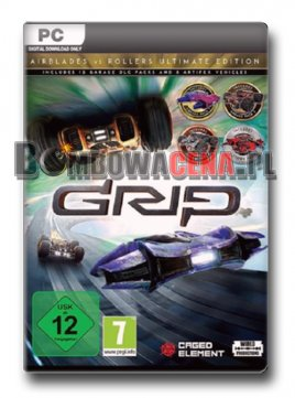 GRIP [PC] PL, Ultimate Edition, NOWA
