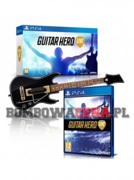 Guitar Hero Live [PS4] + Gitara