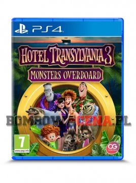 Hotel Transylvania 3 Monsters Overboard [PS4] NOWA